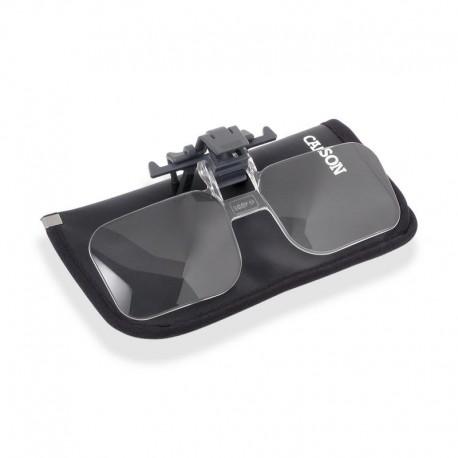 Lupă Carson Clip & Flip pentru ochelari 1,5x