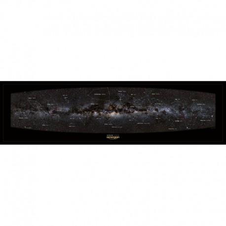 Poster panoramic Calea Lactee