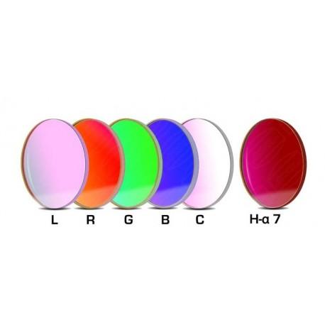 Set complet de filtre CCD Baader 50,4mm rotund (un filtru H-alpha 7nm, 3 mm grosime și 5 filtre LRGBC)