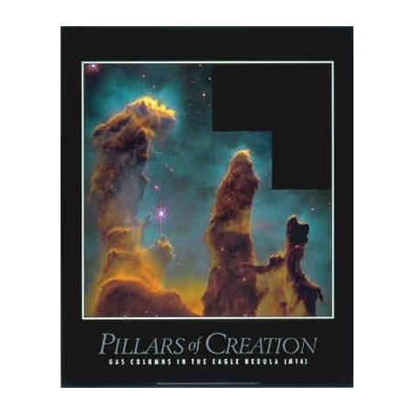 Poster Pillars of Creation in Eagle Nebula