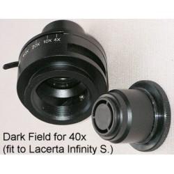 Diafragmă câmp întunecat (N.A. 0.9) pentru microscoape seria Lacerta Infinity