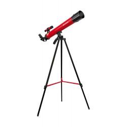 Telescop Bresser Space Explorer 45/600 rosu