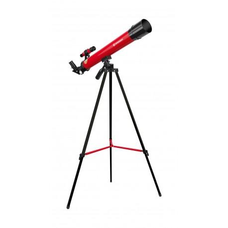 Telescop pentru copii Bresser Space Explorer 45/600 rosu