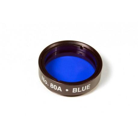 """Filtru colorat albastru 80A Levenhuk 1.25"""""""