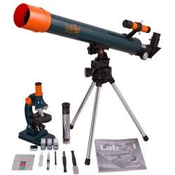 Set pentru copii Telescop+Microscop LabZZ MT2