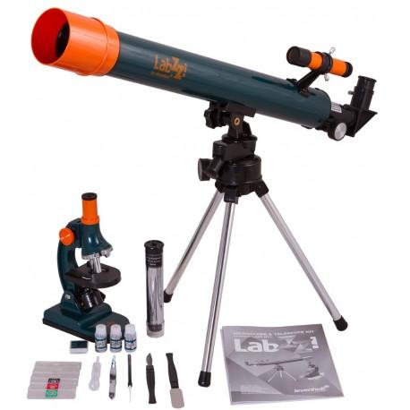 Set pentru copii Telescop si Microscop LabZZ MT2