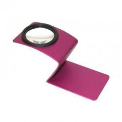 6f20b95059579 Lupa Carson Wave 5x de culoare roz