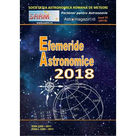 Efemeride astronomice pentru anul 2018