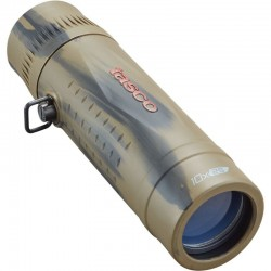 Monocular Tasco Essentials Mono 10x25, Brown Camo