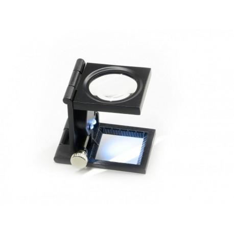 Lupa de masa cu LED 8x30mm