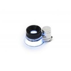 Microscop de mana 20x12 cu iluminare LED