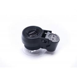 Microscop manual 30x21 cu iluminare LED si UV