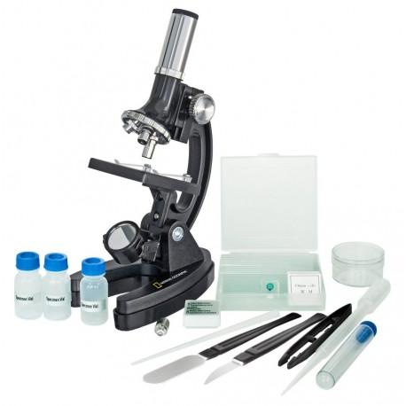 Microscop pentru copii National Geografic 300x-1200x RESIGILAT