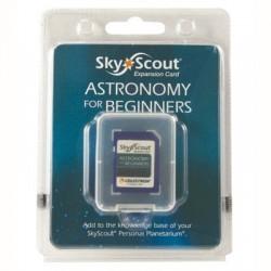Card extensie SkyScout Astronomia pentru incepatori