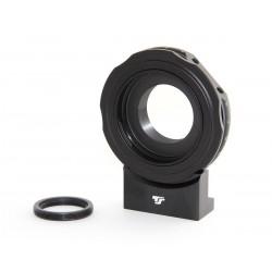 """Adaptor TS pentru obiective Canon EOS la T2 pentru camere CCD si filet foto 1/4"""""""