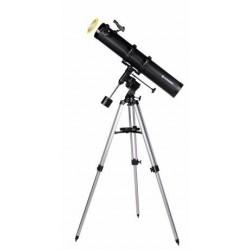 Telescop Bresser Galaxia 114/900 EQ cu adaptor pentru smartphone