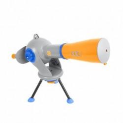Telescop si microscop pentru copii DISCOVERY ADVENTURES 2 in 1 MicroViewer