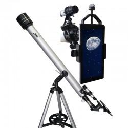 Telescop Seben Star Commander 60/900 cu adaptor de smartphone