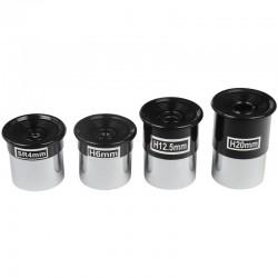"""Set oculare Seben SR4mm + H6mm + H12,5mm + H20mm 1.25"""" OS1"""
