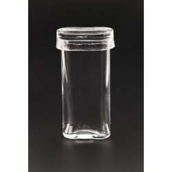 Cilindru pentru pigmentare cu capac, oval