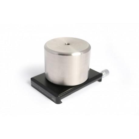 """Contragreutate 1kg Baader din oțel inox cu placă terminal de 60mm pentru șină 3"""""""