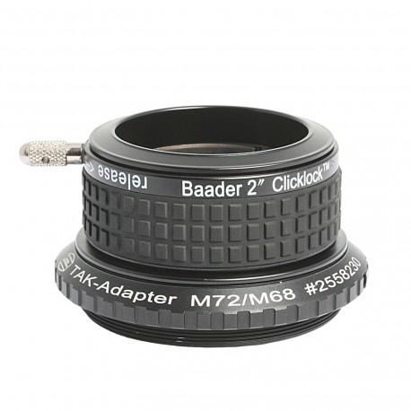 """Clemă ClickLock Baader 2"""" pentru refractoare Takahashi cu filet M72"""
