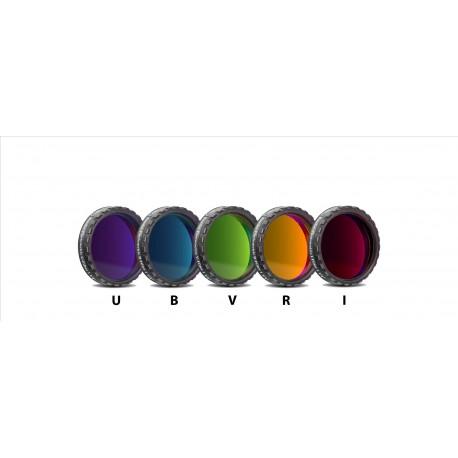 "Set filtre fotometrice UBVRI Baader 1,25"" (conține 5 filtre, 4mm grosime)"
