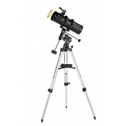 Telescop Bresser Pluto 114/500 EQ cu adaptor pentru smartphone