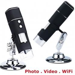 Microscop MicroQ WiFi cu conectare la telefon mobil