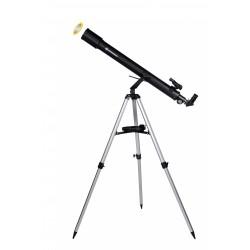 Telescop Bresser Sirius 70/900 AZ cu adaptor pentru smartphone si filtru solar