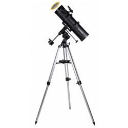 Telescop Bresser Spica 130/650 EQ2 cu oglindă parabolică și adaptor pentru smartphone