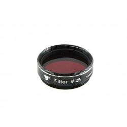 "Filtru colorat rosu TS-Optics, 1.25""- apertura minima 80 mm"