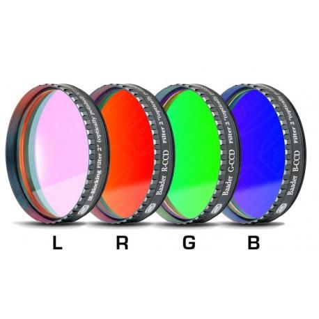 """Set filtre LRGB-CCD Baader 2"""" (2mm grosime, 4 filtre)"""