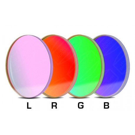 Set filtre LRGB-CCD Baader 50,4mm rotund (3mm grosime, 4 filtre)