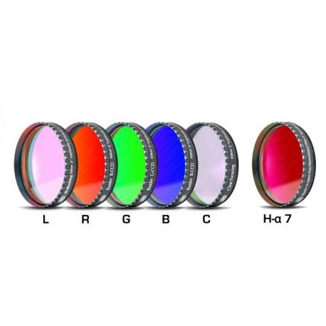 "Set complet de filtre CCD Baader 2"" (un filtru H-alpha 7nm, 2 mm grosime și 5 filtre LRGBC)"