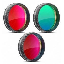 """Set filtre Baader f/2 1,25"""" H-alpha, O-III, S II"""