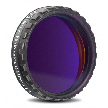 "Filtru fotometric UBVRI Baader U 1,25"" (4mm grosime)"