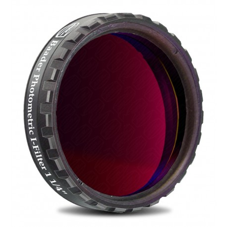 """Filtru fotometric UBVRI Baader I 1,25"""" (4mm grosime)"""