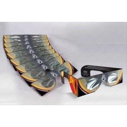 Set 10 ochelari de eclipsă Baader și un filtru AstroSolar A4