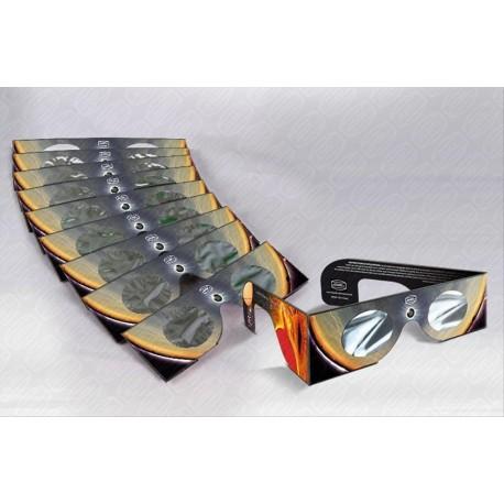Set 10 ochelari de eclipsă Baader cu filtru AstroSolar ND 5