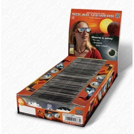 Set 100 ochelari de eclipsă Baader cu filtru AstroSolar ND 5