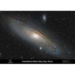 Poster galaxia Andromeda