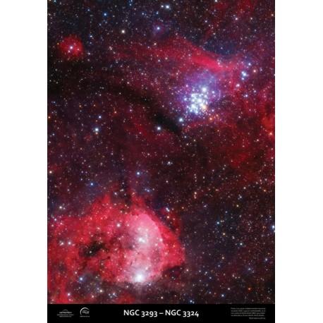 Poster NGC3293-NGC3324