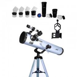 Telescop Seben Big Pack 76/700 cu adaptor de smartphon DKA5