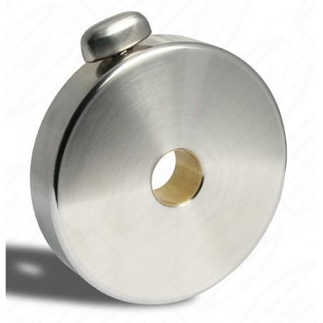 Contragreutate 3kg Baader din oțel inoxidabil, diametru de 140mm, grosime 30mm, pentru bara de 30mm