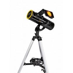Telescop National Geographic 76/350 cu filtru solar si suport pentru smartphone