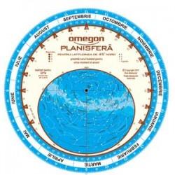Planisferă Omegon 25cm/45°