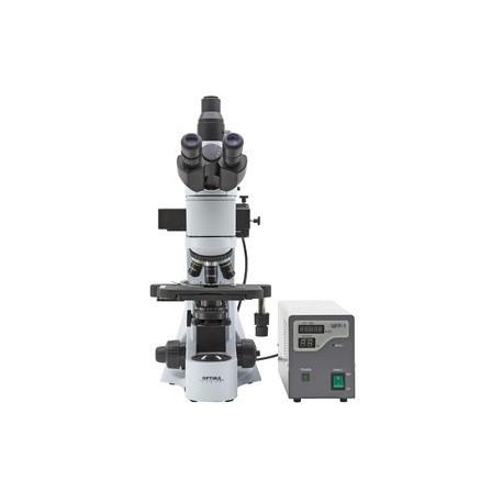 Microscop Optika trinocular B-383FL filtru B & G