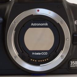 Filtru deepsky Astronomik H-beta (EOS-clip)