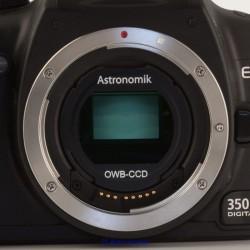 Filtru Astronomik OWB-CCD (original white balance) Typ2 (EOS-clip)